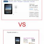 Сравнение цен iPad