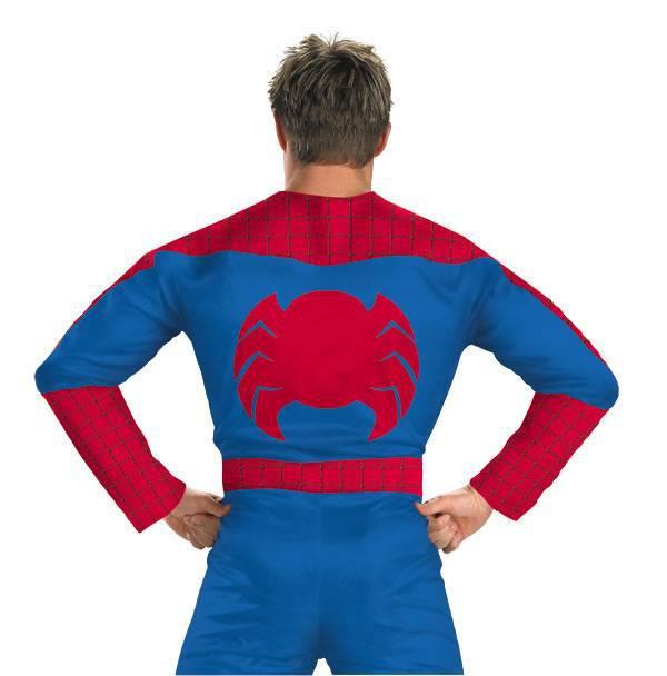 Выкройку костюма человека паука 70