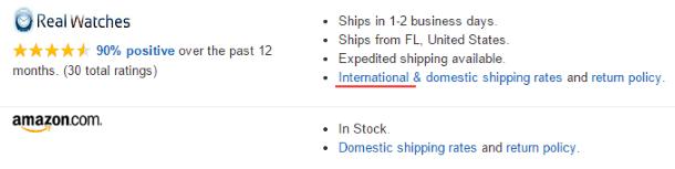 Магазин, осуществляющий международную доставку с Amazon
