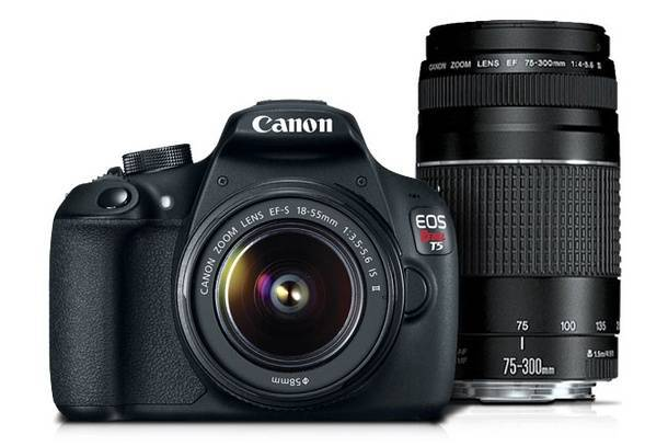 Покупка фотоаппарата Canon с помощью кэшбека