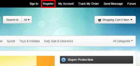 Регистрация на BuyInCoins.com