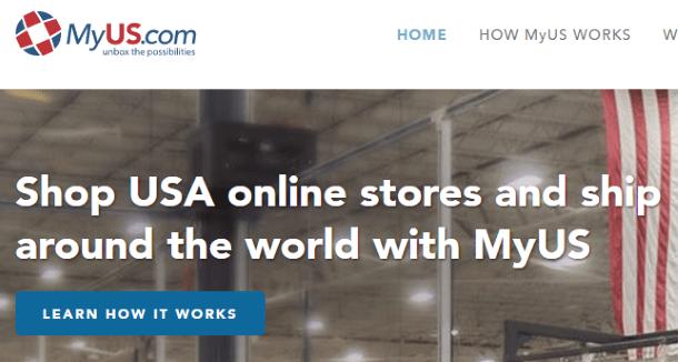 Цены на услуги почтовой пересылки MyUs