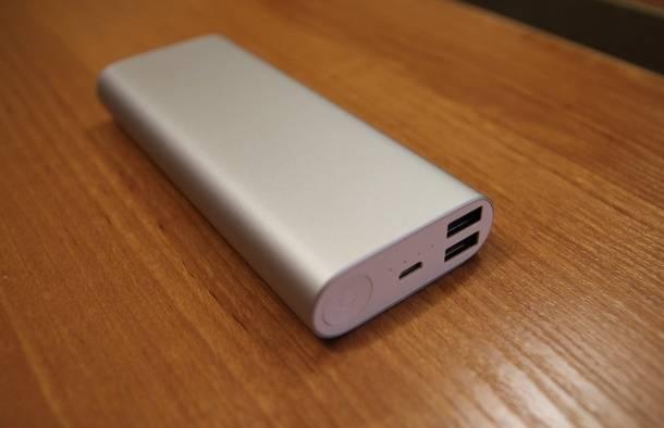 Внешний аккумулятор Xiaomi для подзарядки гаджетов с BangGood