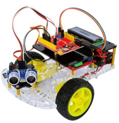 Набор для сборки компактного Arduino-робота с GearBest