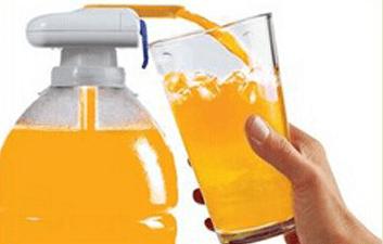 Насадка для автоматического наливания жидкости из бутылок