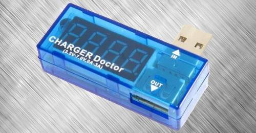 Очень бюджетный измеритель характеристик тока в USB-устройствах с Aliexpress