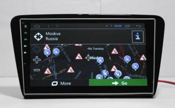 Мультимедийная замена передней панели для Skoda Octavia с Aliexpress