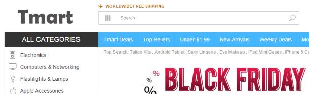 Дропшиппинг вместе с Tmart.com