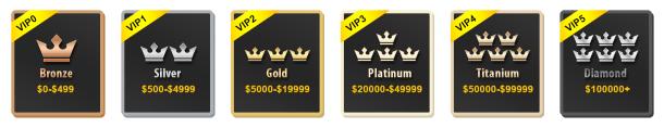 Уровни участия в VIP-программе TomTop.com