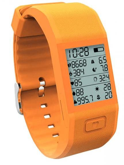 Фитнес-браслет с большим дисплеем и функциональным мобильным приложением