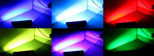 Светомузыкальная установка с Aliexpress