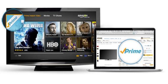 Доступ к цифровому контенту через Amazon Prime