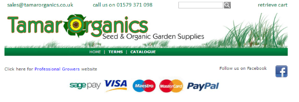 Интернет-магазин эко-семян Tamar Organics