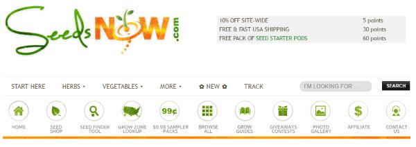 Интернет-магазин эко-семян SeedsNOW