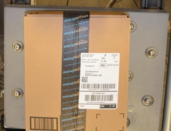 Как переслать покупку из интернет-магазина США с помощью Shipito - образец фотографии посылки