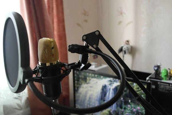 Стойка для микрофона с eBay