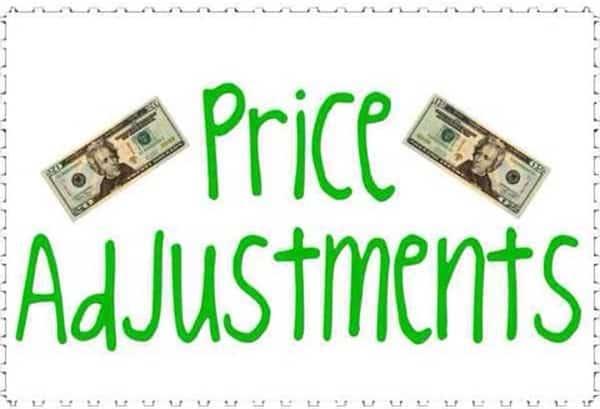 Нюансы Price Adjustment