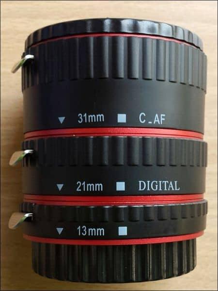 Кольца-удлинители для объективов Canon