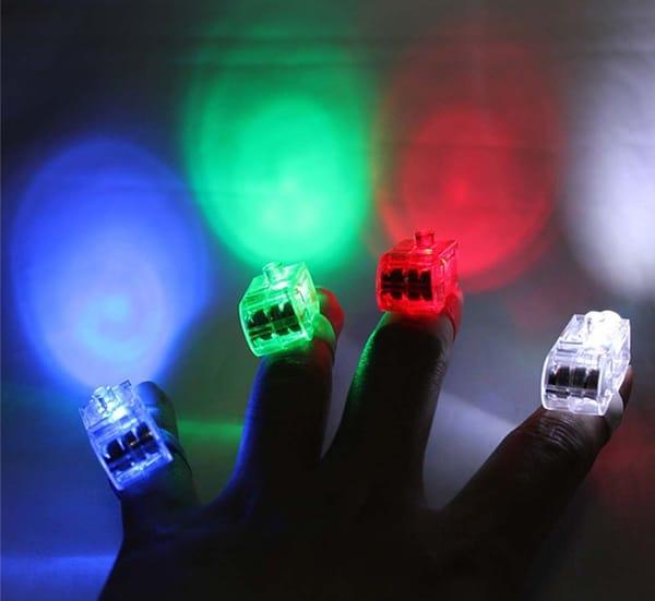 Кольца-насадки со светодиодной подсветкой