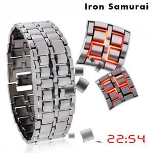 Японские часы Iron Samurai