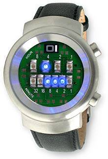 Бинарные наручные часы