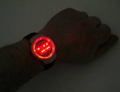 Купить бинарные наручные часы