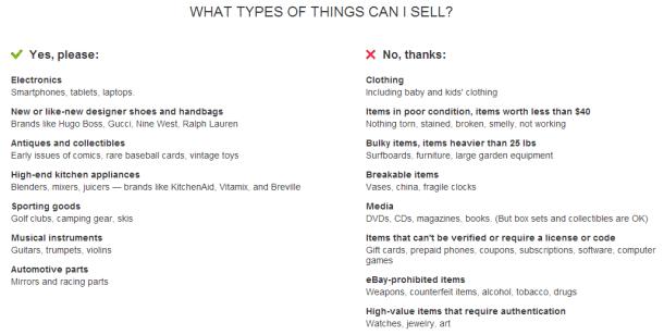 Список предметов, которые можно и нельзя продать через посредника