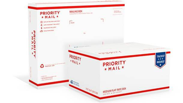 Доставка USPS Priority Mail International