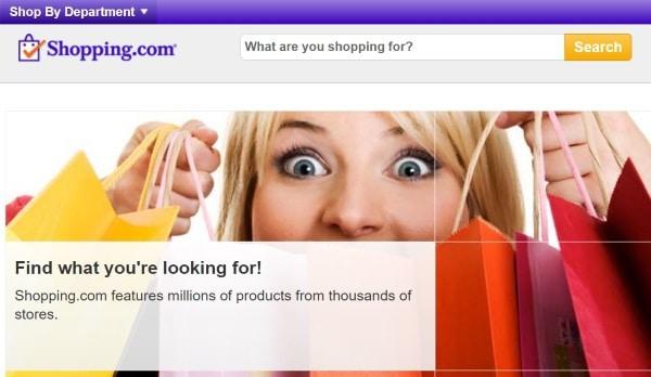 Поиск по зарубежным интернет-магазинам на Shopping.com