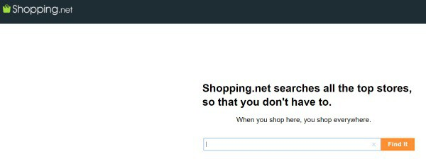 Поиск по зарубежным интернет-магазинам Shopping.net