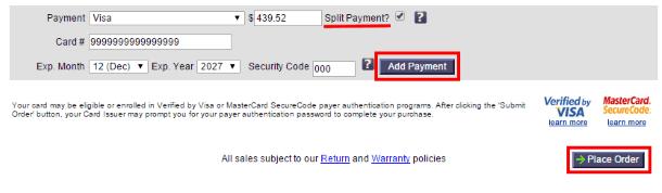 Как покупать на RockAuto.com - ввод платёжных данных
