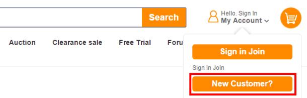 Как покупать на Pandawill.com - регистрация