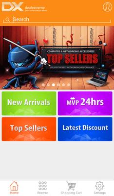 Мобильные приложения для покупок в зарубежных интернет-магазинах - DealExtreme
