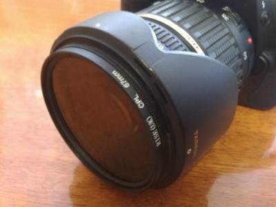 Поляризационный фильтр на Tamron 17-50 mm