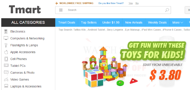 Как покупать на Tmart.com