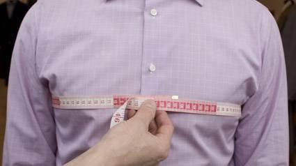 Как правильно измерить объём груди