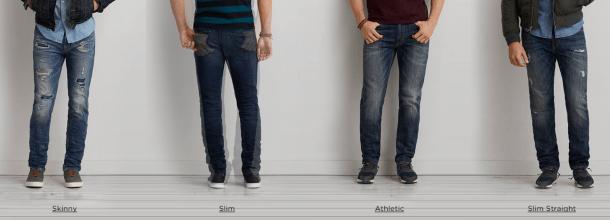 Различные силуэты джинсов