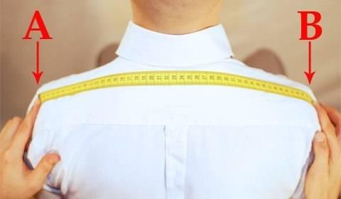 Как правильно измерить плечи