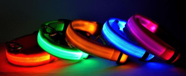Ошейник для собаки со светодиодной подсветкой