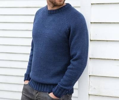 Покупка свитера крупной вязки на Woolovers.com