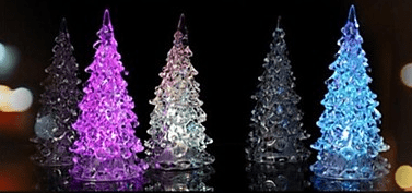 Светодиодная ночная лампа в форме новогодней ёлки с LightInTheBox.com