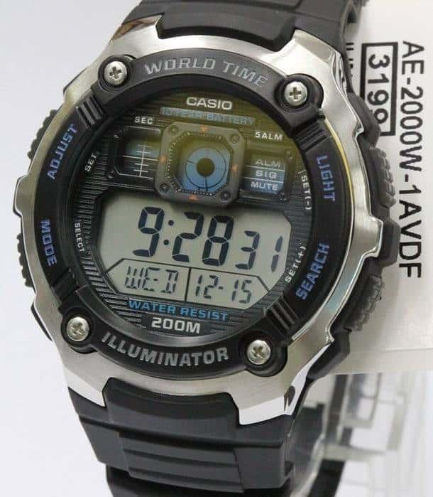 Подлинные защищённые часы Casio с eBay