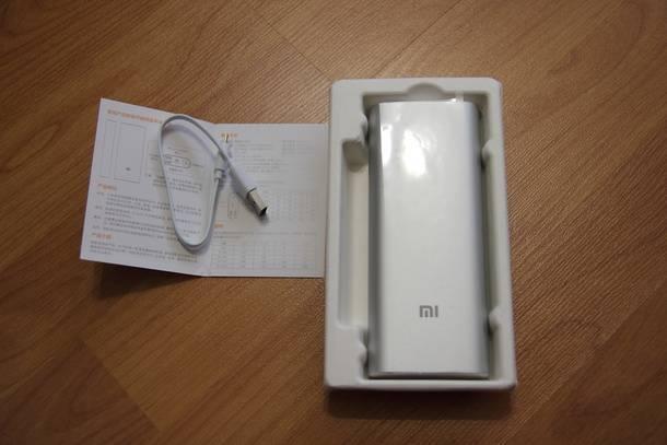 Комплектация аккумулятора Xiaomi, купленного на BangGood