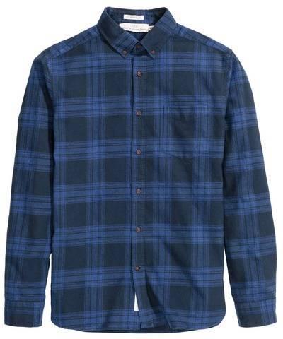 Обзор хлопковой рубашки из новооткрытого интернет-магазина H&M