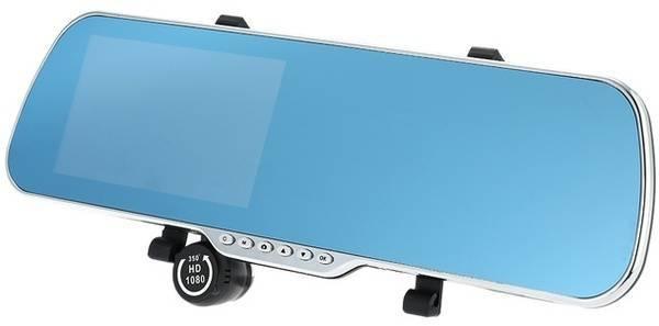 Автомобильное зеркало заднего вида с функцией видеорегистратора