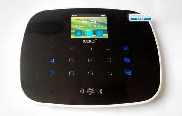 GSM-сигнализация для дачи, купленная на eBay