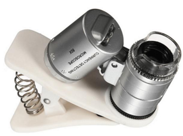 Очень бюджетный микроскоп для смартфонов с Aliexpress