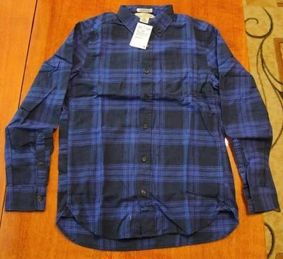 Повседневная хлопковая рубашка из интернет-магазина H&M - общий вид рубашки