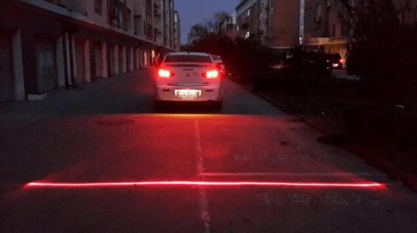 Лазерный дублёр стоп-сигнала на автомобиль