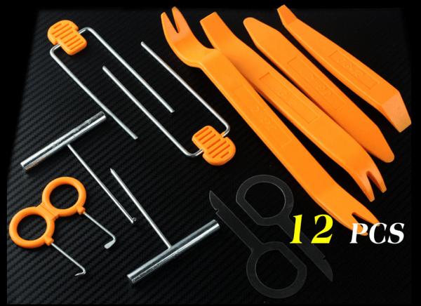 Набор инструментов для снятия пластиковых элементов автомобиля